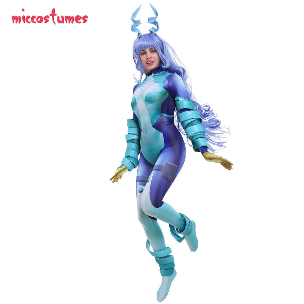 Nejire Hado Cosplay My Hero Academia Cosplay 3D Printed Hero Costume Jumpsuit Bodysuit Cosplay Suit