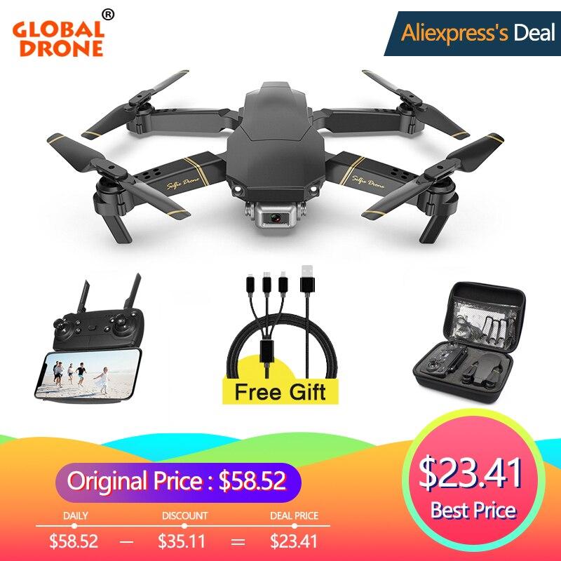 Global EXA Dron Zangão com Câmera HD 1080P Vídeo Ao Vivo Zangão X Pro RC Helicóptero Quadrocopter FPV Drones VS zangão E58 E520