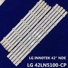 "Światła typu led bar dla LG 42 calowy telewizor LG 42LN5100 CP led drążek led LG INN0TEK 42 ""NDE REV 0.3 B/A (5 sztuk 6 koraliki lampa + 5 sztuk 6 lampa koralik)"