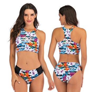 Sexy Bikinis Plus size Swimwear Women Mirco bikini 2020 mujer Two Piece Swimsuit swimming suit Beach Sport Swimsuit Set May 5