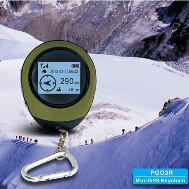 Mini GPS navegador receptor rastreador registrador USB recargable de mano localización buscador seguimiento para viajero brújula