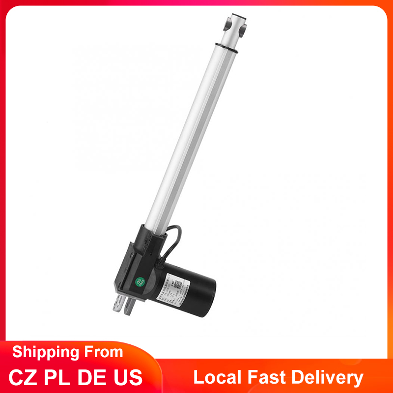 12V Linear Actuator 6000N//4000N 300mm Stroke Electric Motor Control for Medical