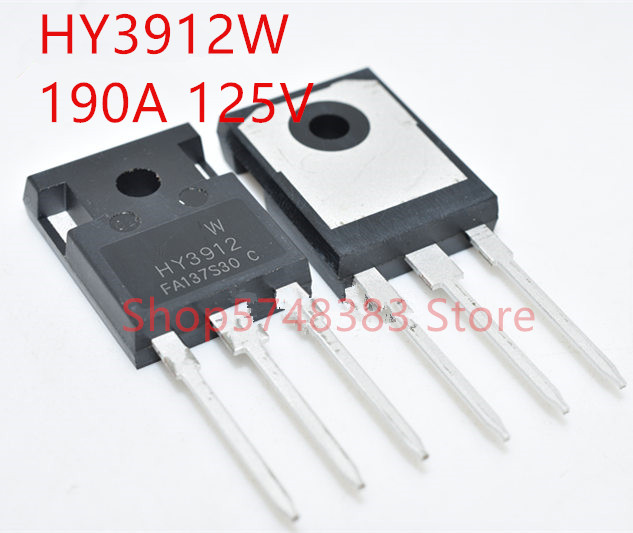 10PCS/LOT 100% New Original HY3912W HY3912 TO-247 125V 190A  MOS Tube