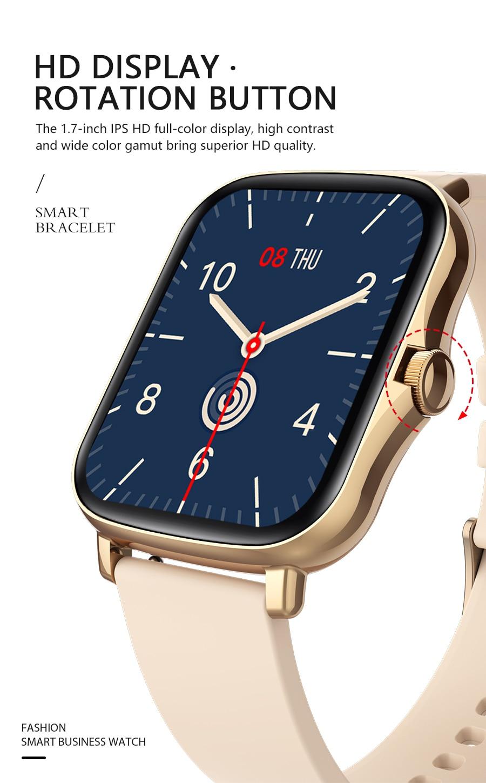 H4a63dbbf227e4d999fad6c602a103ea5r Full Touch Y20 Sport Smart Watch Men Women IP68 custom dial Heart Rate Fitness Tracker Smartwatch wristwatch GTS 2 P8 plus