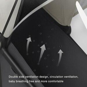 Image 2 - XIAOMI MITU del bambino passeggino accessori di copertura resistente alle intemperie carrello speciale di zanzara del bambino netto passeggino bracciolo anteriore a forma di U corrimano