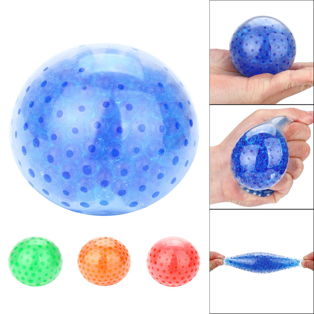 Spongy Bead Stress Ball Squishy Toys Squish Antistress Squeeze Relief Funny Toys For Stress Squichy Jokes TOY L1218