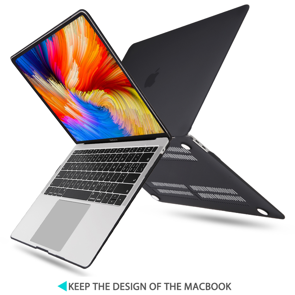 Redlai Matte Crystal Hard Shell Case with Keyboard cover For 2019 Macbook Pro 16 TouchBar A2141