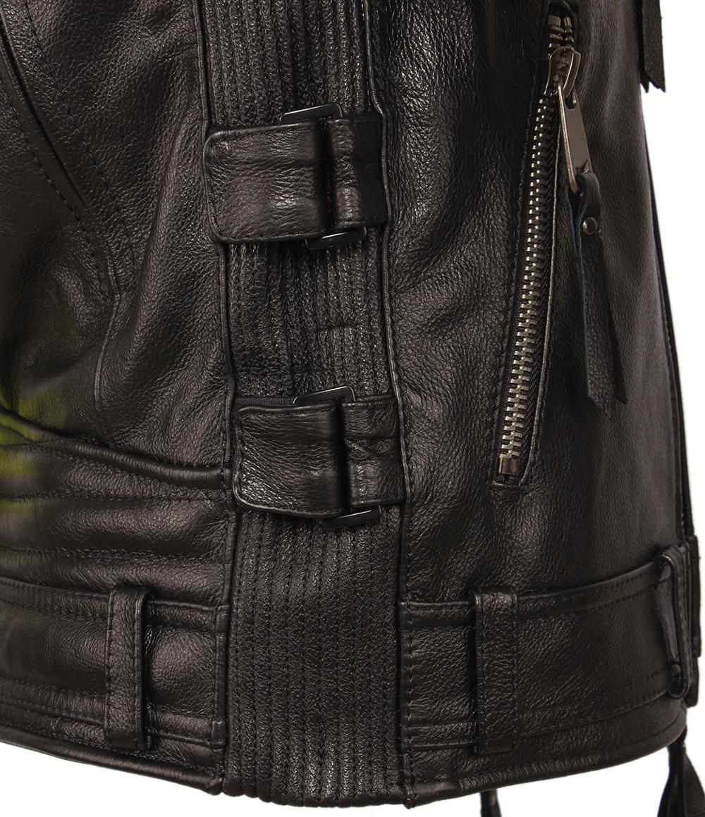 H4a644036ddd3443bb86c0efefead3f7eH Vintage Motorcycle Jacket Slim Fit Thick Men Leather Jacket 100% Cowhide Moto Biker Jacket Man Leather Coat Winter Warm M455