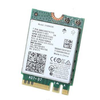 For Intel 3168 AC 3168NGW NGFF M.2 802.11ac Wireless Wifi Card Dual Band Adapter цена 2017