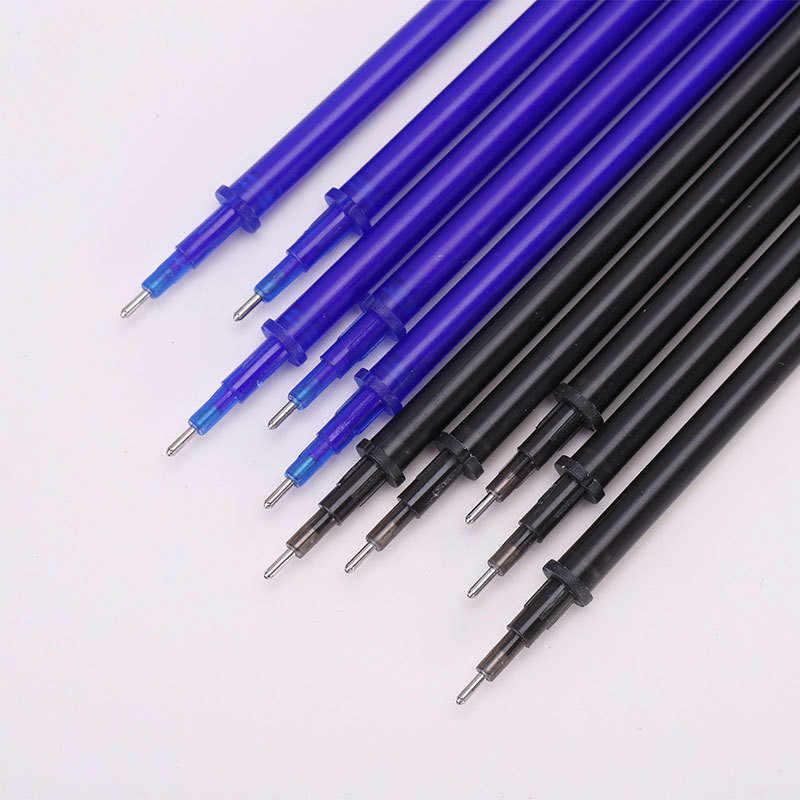 0,5mm pluma borrable recarga Gel mágico pluma azul negro barras de tinta para oficina de la escuela suministros de escritura papelería al por mayor