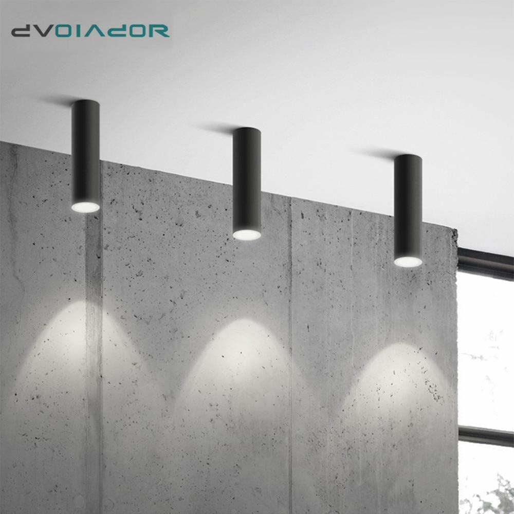 Reflektor montowane na powierzchni świetlówka Led reflektor sufitowy aluminium Led Spot oświetlenie dekoracyjne oprawa sufitowa do biura kuchennego