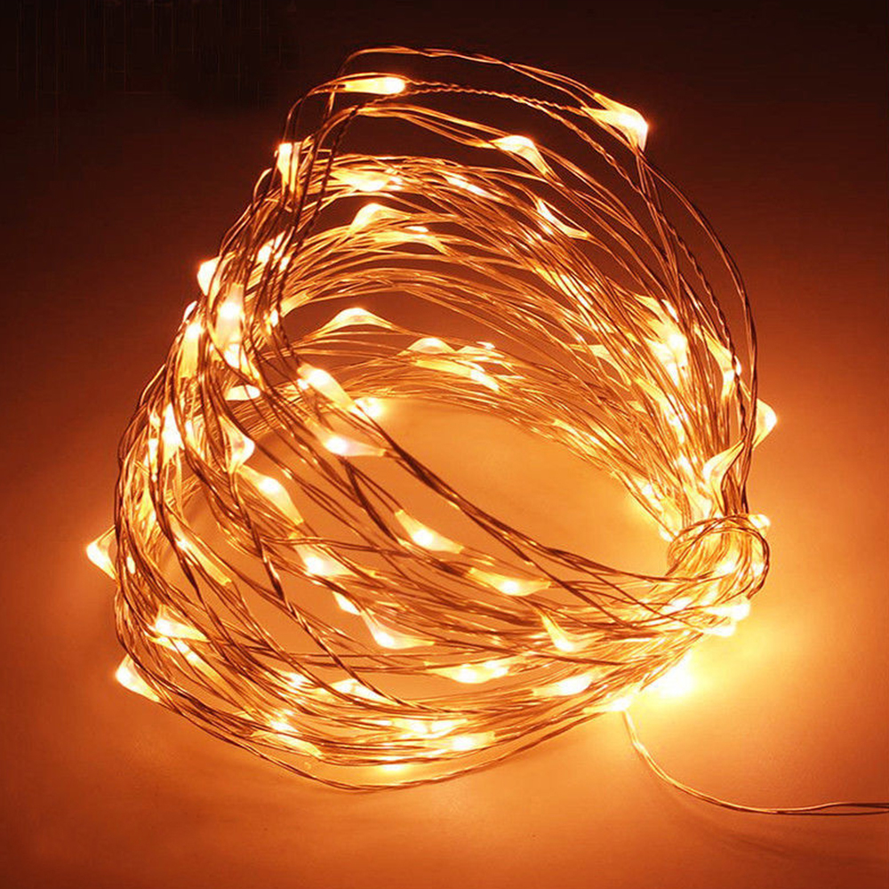 Fairy String Light Copper Wire 20 LED Landscape Lamp Outdoor Yard Garden Fairy Light Fairy String Battery Xmas Decor Festival