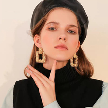 Bohemian Style Big Earrings Metal Luxury Retro Classic Fashion Hyperbole Womens For Winter Jewelry Wholesale 2019 New