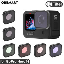 ORBMART GoPro Hero 9 Filter CPL UV ND 8 16 32 Red Lens Filters for GoPro Hero 9 Black Hero9 Gopro9 Go Pro Camera Accessories