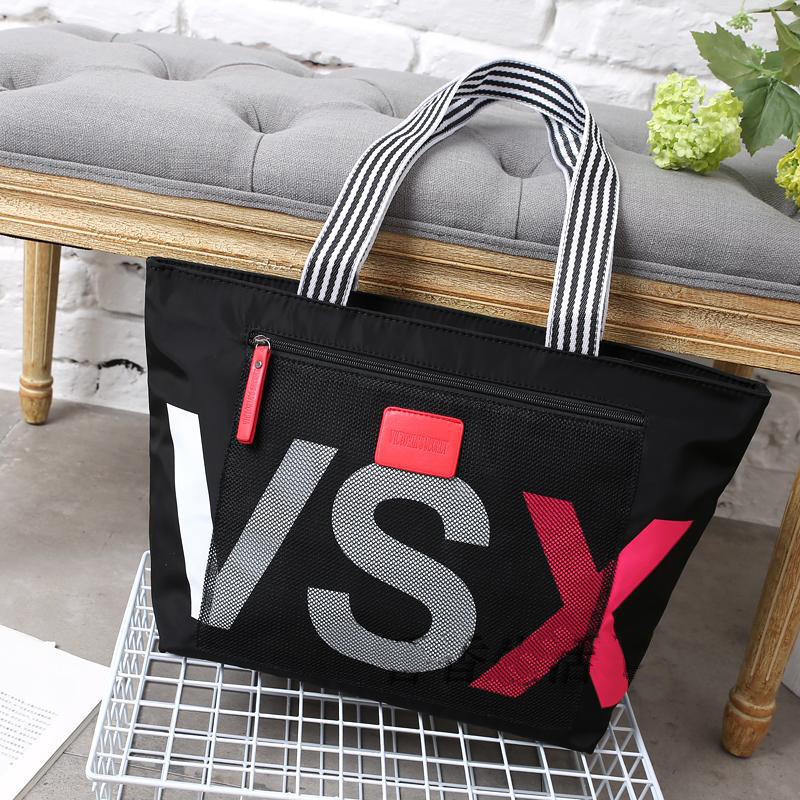 New Canvas Handbags for Women's Bags Fashion Letter Single Shoulder Bag Large Capacity Leisure Shopping Bag Travel carrier Bags image