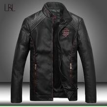 Leder Jacke Männer Fleece Gefüttert Dicke Warme Faux Leder Winter Jacken Herren Motorrad Für Männlichen Bomber Jacken Mantel Mann Outwear