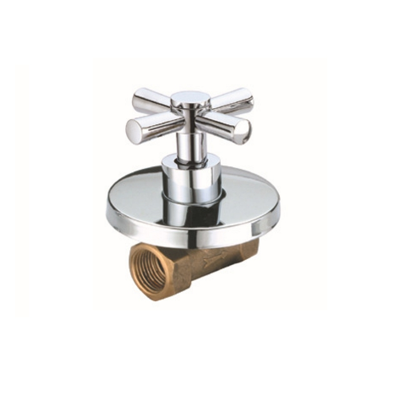 Copper Bathtub Faucet Valve 3/4''1/2'' Bathroom Shower Valve Cold Water Tap Valve Single Handle Concealed Angle Valve Accessory