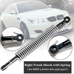 Araba gövde şok yaylı amortisör BMW E60 M5 5 serisi arka bagaj şok yayı kapak tutucu 51247141490 aksesuarları