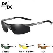 Polarized Sunglasses Unisex HD Vision Sun Glasses Eyewear UV Protection Car Driving Glasses Car Night Vision Driver Goggles