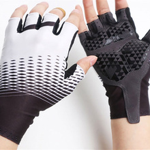 Newest Cycling Gloves Outdoor Protect MTB Bike Washable Breathable Nylon Half Finger Racing Bicycle