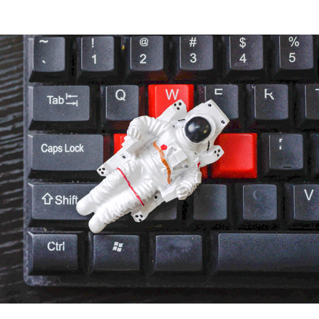Astronaut refrigerator decoration magnet cartoon warrior cute creative gifts magnetic refrigerator fridge magnet home decoration 4