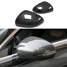 Replacement Style Mirror Cap For Mercedes A class W177 Carbon Fiber Rear View Cover 2018+