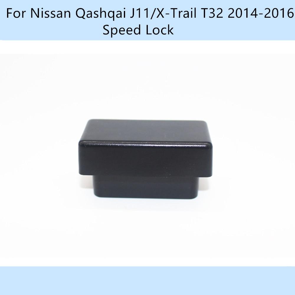 Автомобиль OBD 10 км/ч Блокировка скорости разблокировка Plug And Play для Nissan Qashqai J11/X-Trail T32 2014-2016