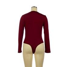 Long Sleeve Slim bodysuits EL6F0