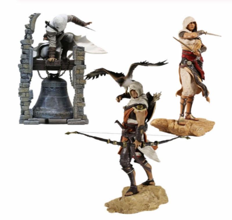 28 см Creed Originis Bayek Aya Altair легендарная фигурка убийцы модель игрушки кукла подарок
