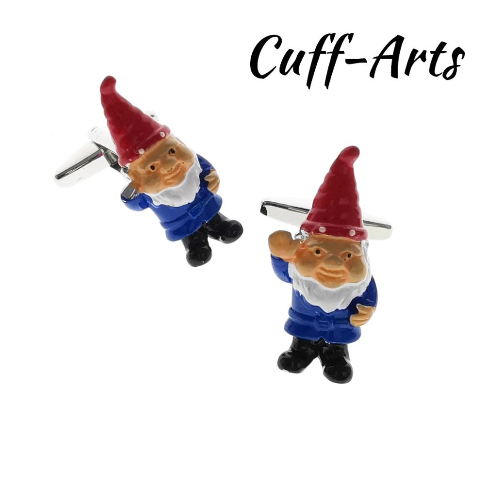 Cufflinks For Men Garden Gnome Cufflinks Gifts For Men Gemelos Les Boutons De Manchette By Cuffarts C10515