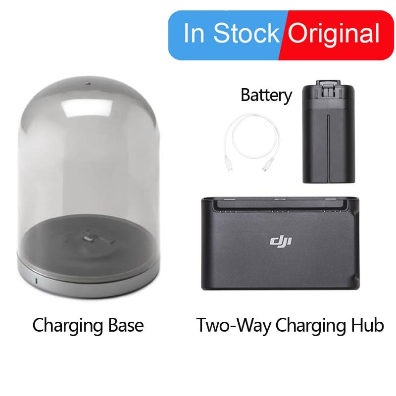 Original DJI Mavic Mini Intelligent Flight Battery/Charging Base/Two-Way Charging Hub/For DJI Mavic Drone Flying Set Accessories