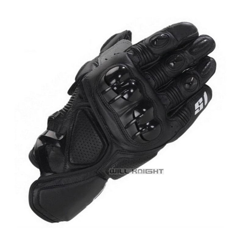 S1 Motorrad Automotive <font><b>MTB</b></font> Bike Off-road Motocross <font><b>Racing</b></font> Leder Handschuhe image