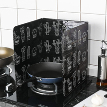 Aluminum Foil Oil Block Barrier Stove Cooking Heat Insulation Anti-Splashing