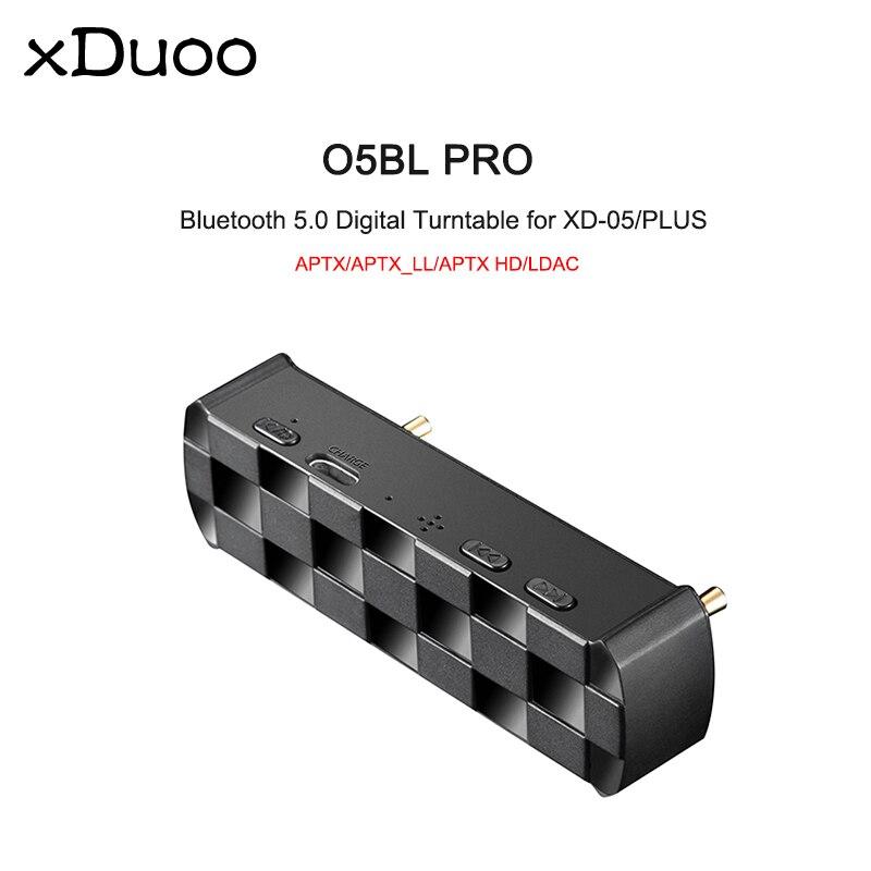Xduoo O5BL PRO Bluetooth platine vinyle numérique pour XD05/PLUS amplificateur casque