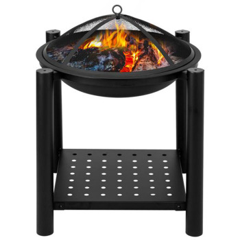 Wood Burning Fire Pit 1
