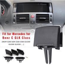 Car Front Air Conditioning Vent Outlet Tab Clip Paddles Repair Kit For Mercedes Benz W204 C260 C300 GLK200 GLK300 GLAutAccessori шильдик nfs glk300 s400l glk300