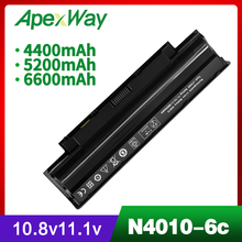 5200mAh laptop battery for Dell Inspiron M501 M501R M511R N3010 N3110 N4010 N4050 N4110 N5010 N5010D N5110 N7010 N7110 dc power jack socket for dell inspiron 1464 1564 1764 2100 14r n4010 14r n4110 a860 n7010 n7110