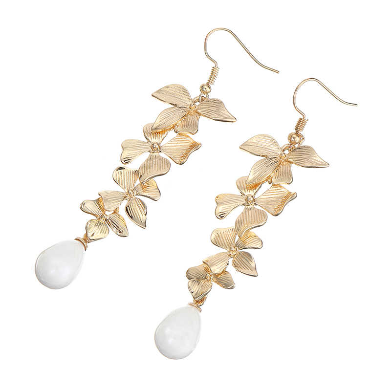 Vintage ROMANTIC Gold /& Faux Pearl /'Beaded/' Side View Style Hoop Latch Back Earrings...#8486..Gift 4 Mom,Gift 4 Her,Office or Play