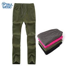 Trvlwego winter spring warm fleece pants camping men women outdoor