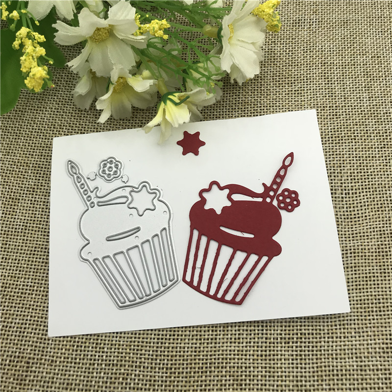 Cake Candle Decoration Metal Cutting Dies Stencils For DIY Scrapbooking Decorative Embossing Handcraft Die Cutting Template