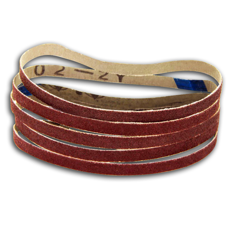 5pcs 10 X 330mm Sanding Belt 3/8