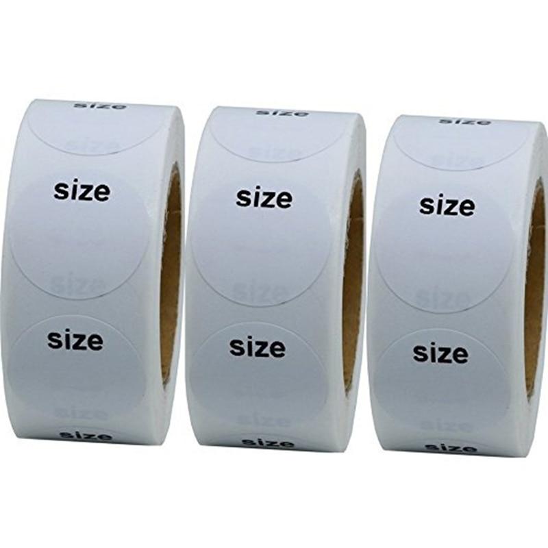500 PCS/Roll Adhesive Thermal Label Sticker Paper Price Blank Label Direct Print Waterproof Print Su