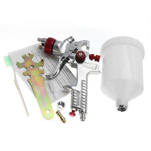 Image 2 - Набор пневматических пульверизаторов гравитационного типа, форсунка 1,4 мм, 600 мл, электроинструменты для живописи, профессиональная покраска мебели для автомобиля