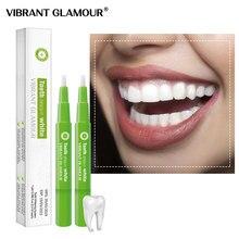 VIBRANT GLAMOUR – stylo de blanchiment des dents, sérum de nettoyage, élimine les taches de Plaque dentaire, hygiène buccale, Gel dentaire, outil de blanchiment, soins dentaires, 2 pièces