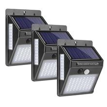 Đèn Sân Vườn Năng Lượng Mặt Trời 100 Đèn LED Năng Lượng Mặt Trời Cảm Biến Chuyển Động Cảm Biến Đèn Chống Nước Ngoài Trời Chiếu Sáng Trang Trí Đèn Không Dây Đèn Tường