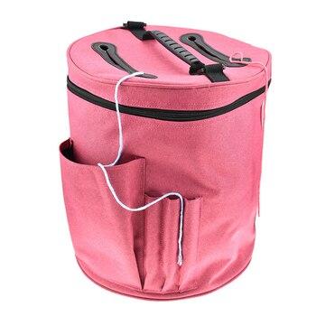 DIY Women Sewing Kit Bag Large Capacity Yarn Case Yarn Knitting Yarn Bag Household Crochet Hooks Thread Yarn Bag фото