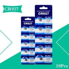 2020 promoção novo 10 pçs 3v cr927 cr 927 relógio de pulso bateria botão de lítio moedas células para calculadoras brinquedos computadores