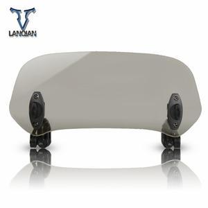 Image 3 - Motorcycle Windshield Adjustable Windscreen Deflector Universal for DUCATI Multistrada 1260 S D
