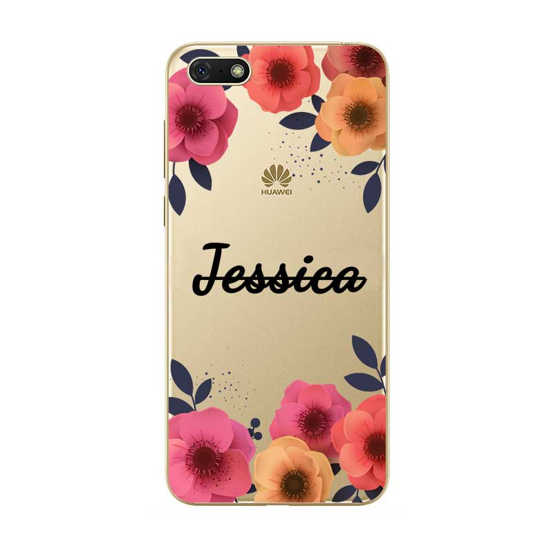 Custom Name DIY Hot Coque Capa Case Cover For Huawei P8 P9 P10 P20 P30 Lite Pro P Smart Plus 2017 2019 in Fitted Cases from Cellphones Telecommunications