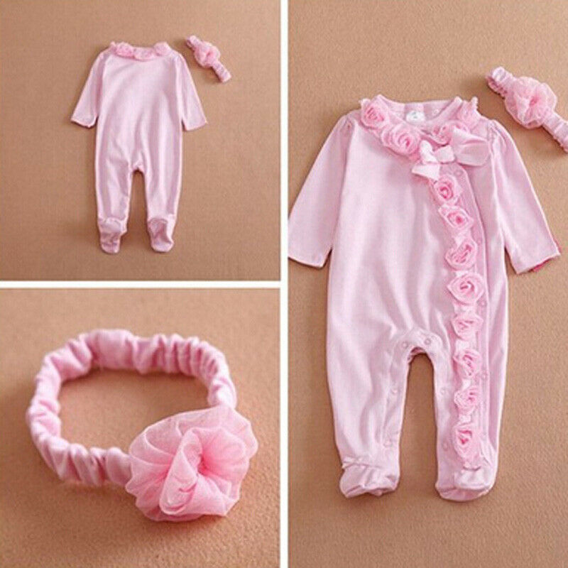 2019 Newborn Kids Baby Boy Baby Girl Warm Infant Cotton Long Sleeve Romper Jumpsuit Hooded Clothes Sweater Outfit 0 9M in Rompers from Mother Kids